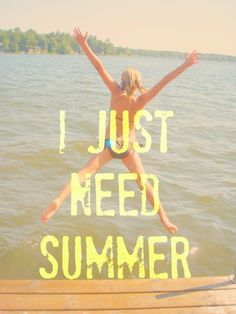It's cold. We're sick of cold. How about an endless summer. A hot, sunny, tanline-wearin', beach-filled, margarita drinkin', sun-kissed summer. Please? :)