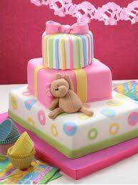 Resultado de imagen para tortas decoradas con glase para niñas