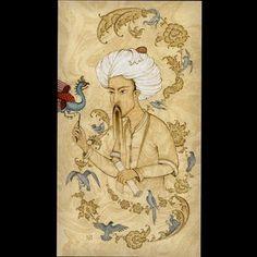 Feridüddin Attar #islamicart #islamicpainting #illumination #tezhip #tezhipsanatı #sanat #art