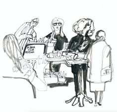 An Illustrated Festival:Gild Hall    Artist Carly Larsson captured the excitement in thelobby of Gild Hallduring the 2016 Tribeca Film Festival through her beautiful vibrant illustrations,. See