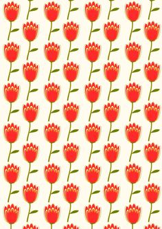 FREE printable floral pattern paper ^^