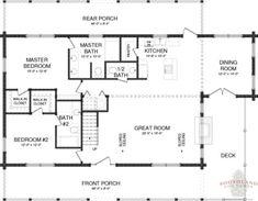 Lake City - Plans & Information | Southland Log Homes