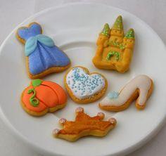 Princess Cinderella Cookie set for American by StaceyMorganStudios, $11.95