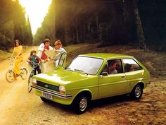 It's Fiesta Friday! Here's a road trip beauty from the Where will you go this weekend? Henry Ford, Drag, Car Finance, Ford Escort, Car Advertising, First Car, Car Ford, Mk1, Old Cars