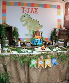 dinozor doğum günü partisi fikirleri