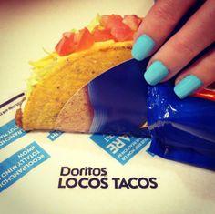 That's right, Cool Ranch Doritos Locos Tacos!