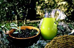 Olive taggiasche e Olio Riviera Ligure di Ponente D.O.P. - © Roberto Merlo