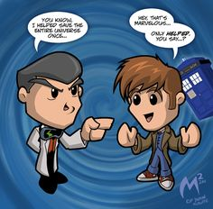 Commission: Paradox + Dr Who by MattMoylan on DeviantArt