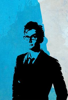 Doctor Who 10th Doctor David Tennant Poster Illustration Whovian Print Giclee on Paper Canvas and Cotton Canvas Dr Who Geek Art. Doctor Who art print featuring pop art stylized illustration of 19th Doctor, David Tennant. Detailed with grunge textured effect for vintage aesthetic. This print is available on high quality 60lb/230gsm paper canvas and (NEW!) premium 360gsm double woven cotton canvas. Paper canvas prints are borderless. Cotton canvas prints have a border of 30mm on all sides....