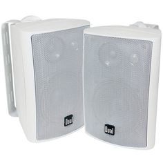 Dual LU Series 3-Way Indoor/Outdoor Speakers, LU43 | Camping World Best Outdoor Speakers, Best Home Theater System, Home Speakers, Video Home, Speaker System, Cool Things To Buy, Stuff To Buy, The Ordinary, Indoor Outdoor