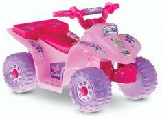 Brand new ***Barbie Power Wheels*** four wheeler quad Princess FREE US SHIPPING & GIN