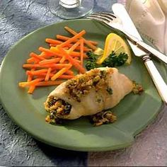 Herb Stuffed Sole from Land O'Lakes