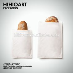 Bread Use and Food Industrial Use take-away paper bags