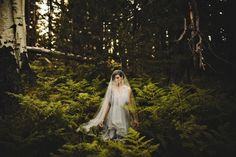 Wedding planning ideas and inspiration from Junebug Weddings - styled photo shoot and more. Come plan a wedding with serious personal style! Wedding Pics, Wedding Couples, Wedding Blog, Wedding Engagement, Wedding Styles, Dream Wedding, Wedding Ideas, Forest Wedding, Engagement Shoots