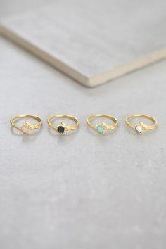 Branch & Stone Ring