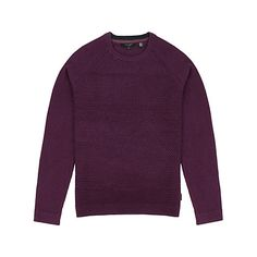 Buy Purple Ted Baker Crewe Basket Stitch Jumper from our Men's Jumpers & Cardigans range at John Lewis & Partners. Gingham Shirt, Mens Jumpers, Leather And Lace, Ted Baker, Knitwear, Crew Neck, Men Sweater, Basket, Stitch
