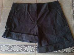 J. Crew city fit pin striped convertible dress shorts. Womens SZ 6 #JCrew #DressShorts