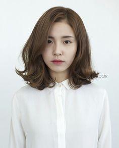 korean wave cushion out curl perm