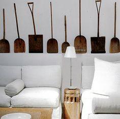 palas madera antiguas