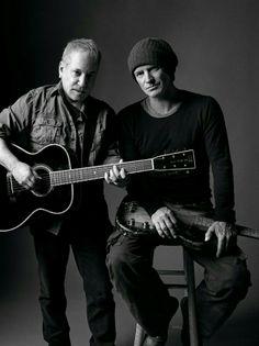 Paul Simon and Sting...