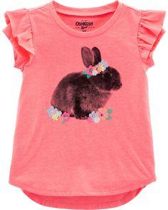 OshKosh Girls Toddler Top Size 2T NWT Green Animal Print
