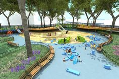 innovative rooftop playground school - Google Search