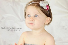 The Neve Headband  Three Hand Rolled Rosettes by TheKissesBoutique, $12.00