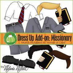 dress up boy missionary