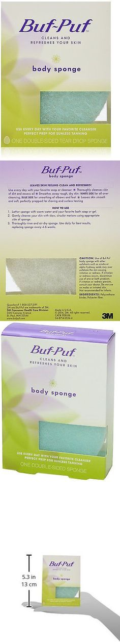 Bath Brushes and Sponges: Buf-Puf Double-Sided Body Sponge Pack Of 6 -> BUY IT NOW ONLY: $32.66 on eBay!