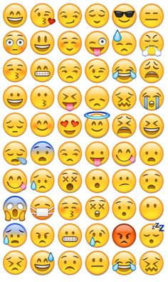 Imagen de emoji, wallpaper, and smile