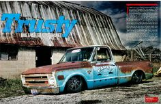 c 10 trucks | RideTech equipped C-10 owned by Kevin Bapst in March issue of ...
