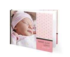 smartphoto babyboek meisje - livre photo bébé fille