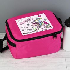 Personalised Bang on the Door Lunch Bag - Pony Girl