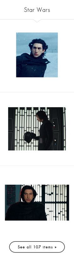"""""""Star Wars"""" by saffire9975 ❤ liked on Polyvore featuring star wars, pictures, boys, pics, backgrounds, magic, powers, photos, aesthetic and image"""