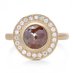Greenwich Jewelers-Anne Sportun Red Diamond. Amazing conflict-free, one of a kind rings
