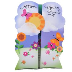 Mom Love You So Much Greeting Card