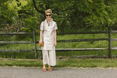 The Best Street Style at the 2016 Veuve Clicquot Polo Classic Photos   W Magazine