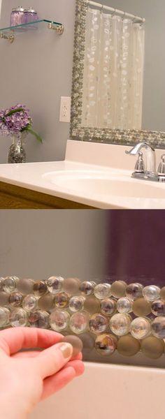 *Decoração e Invenção*: Reformar espelho do banheiro - 4 idéias BBB