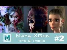 ArtStation - XGen Tips & Tricks , Obaida Hamdi