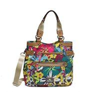 Lily Bloom Womens Floral Tote Copa Caban Multicolored - purses I need to check out