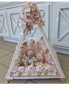 Creative Wedding Gifts, Wedding Gifts For Bride, Desi Wedding, Wedding Crafts, Bridal Gifts, Wedding Favours, Wedding Hamper, Wedding Gift Baskets, Engagement Decorations