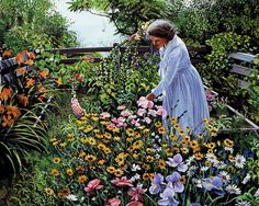 The Hillside Garden by Susan Rios THIS REMINDS ME OF FAMILY LOVE THIS
