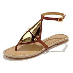 Mara & Mine sandals. More stylish summer sandals you'll love: http://www.womenshealthmag.com/style/flat-sandals?cm_mmc=Pinterest-_-WomensHealth-_-Content-Style-_-StylishSummerSandals