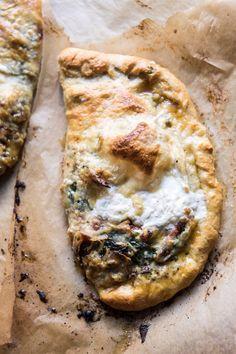 Spinach and Prosciutto Burrata Calzone
