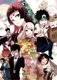 Ao no Exorcist from manga :3