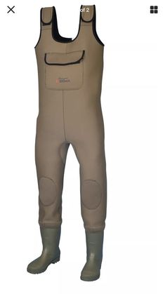 Shakespeare Sigma Neoprene Chest Waders Cleat Sole - Brown , Designed and fitted using hardwearing neoprene, these exceptional value for money waders are the ideal accompaniment for any game, coarse or saltw. Shakespeare, Salmon Fishing, Fishing Outfits, Cleats, Wetsuit, Boots, Swimwear, Stuff To Buy, Shopping