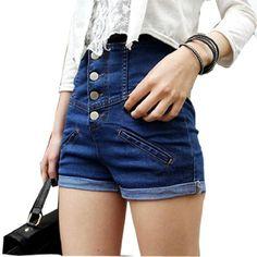 Allegra K Ladies High Rise Decorative Pocket Back Button Closure Shorts Blue S Allegra K,http://www.amazon.com/dp/B008BHIM68/ref=cm_sw_r_pi_dp_cYE8rb0692WD5C0H