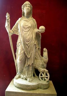 "Nemesis, daughter of Zeus. Goddess of ""Distribution of Justice"""