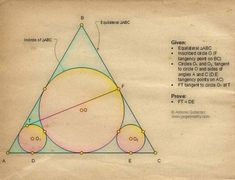 Sketch of Geometry Problem 1314: Triangle, Concurrent Cevians, Midpoints, Area, Hexagon, iPad Apps