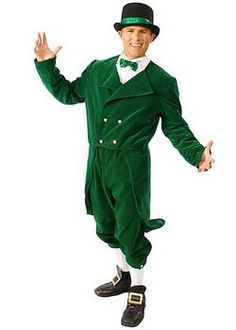 St. Patrick\'s Day Costumes: Leprechaun Mask (details at Adults ...